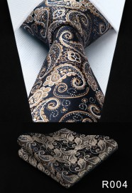 HISDERN-Mens-Ties-Paisley-Floral-34Silk-Wedding-Necktie-_57