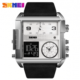 SKMEI 1391 Men Sports Watch Military Wristwatch Men Quartz Analog Digital Watches (2)