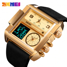 SKMEI 1391 Men Sports Watch Military Wristwatch Men Quartz Analog Digital Watches