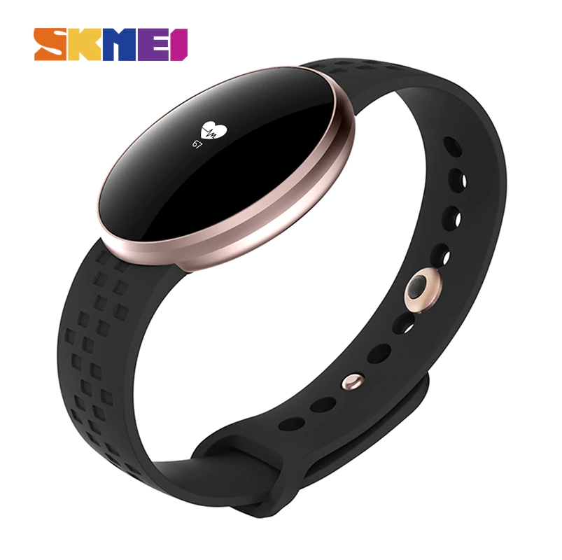 SKMEI B16 Women Smart Watch for IOS Android with Fitness Sleep Monitoring IP67 Waterproof Remote Camera Auto Wake Screen